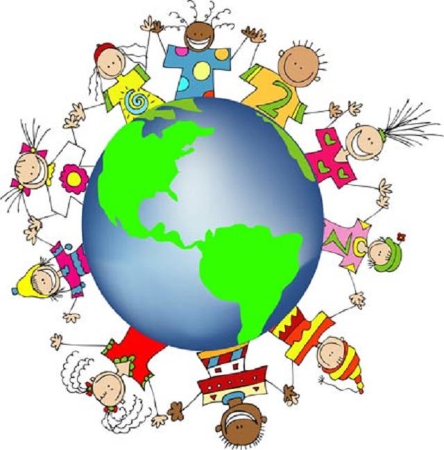 bambini bilingue all'asilo