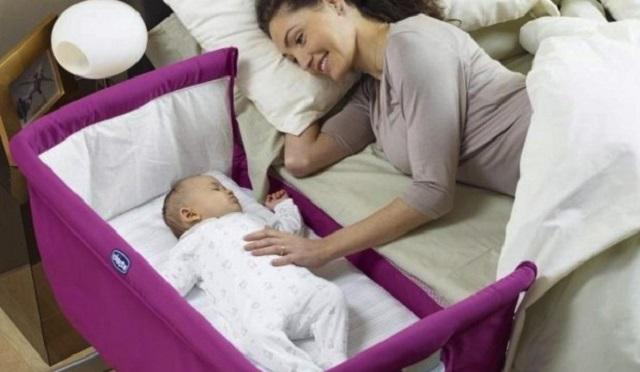 Culla affianco al letto matrimoniale passione mamma - Culla neonato da attaccare al letto ...