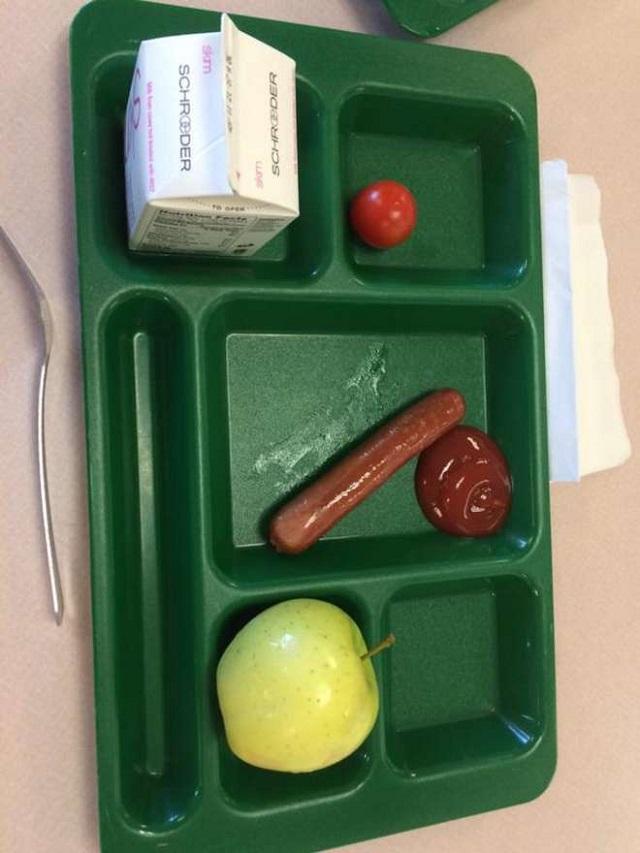 studenti contro michelle obama per cibo