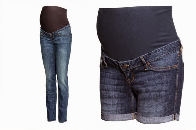 immagine premaman jeans