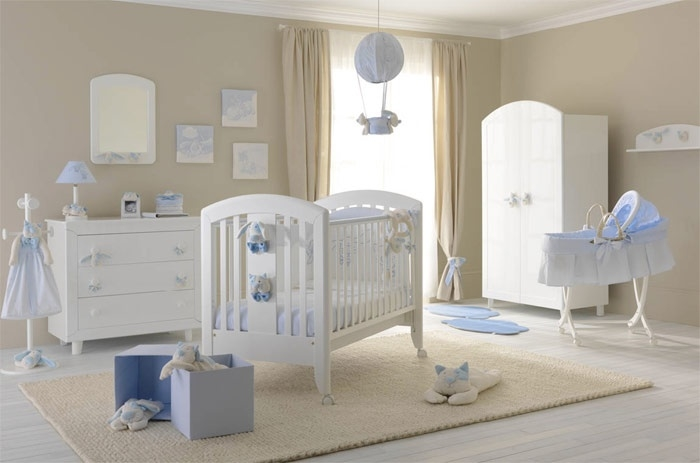 Come deve essere la cameretta del neonato - Idee camera neonato ...