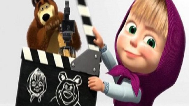 foto_masha e orso cinema