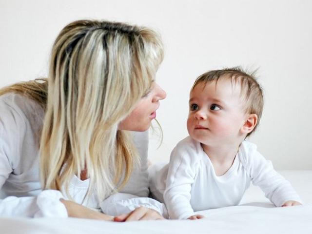 foto bimbo e mamma