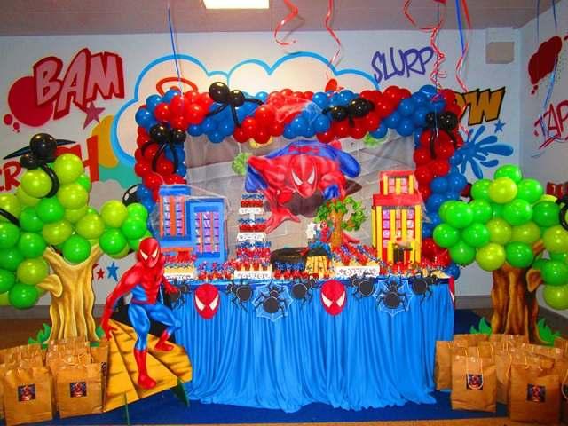 festa compleanno spiderman