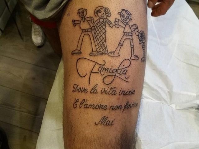 tatuaggi famiglia