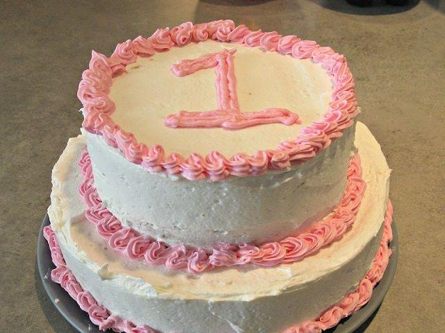 torta per primo numero