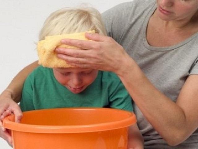 vomito giallo