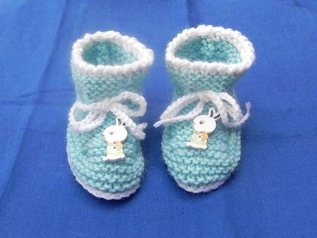 scarpine neonato uncinetto