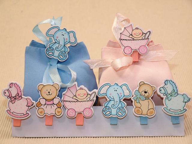 Favorito Bomboniere nascita: idee e sacchetti per festeggiare l'arrivo del bebé HR62