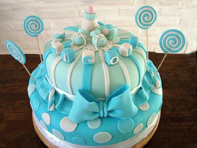 Molto Torta battesimo bimbo: le idee più belle e gustose - Passione Mamma RS81