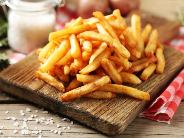 patatine fritte calorie