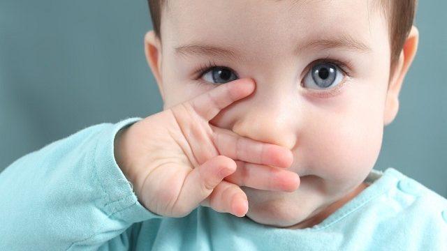 naso chiuso bambini
