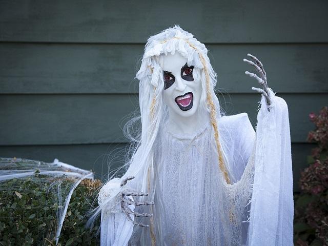 costume fantasma bambina