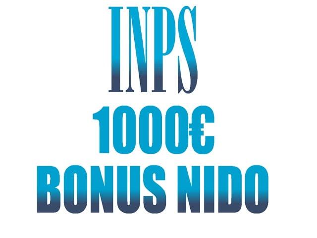 bonus inps