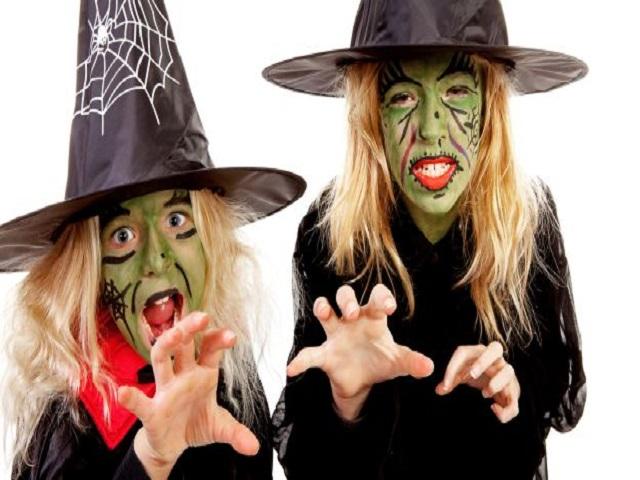 trucco strega halloween