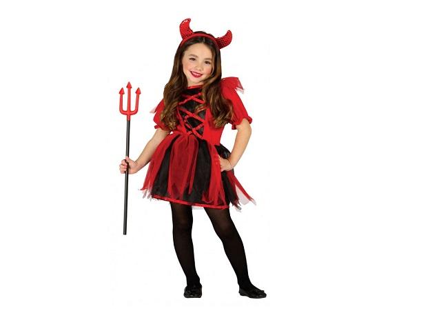 trucco da diavoletta per halloween