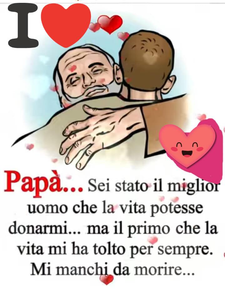 frasi d'amore per il papà