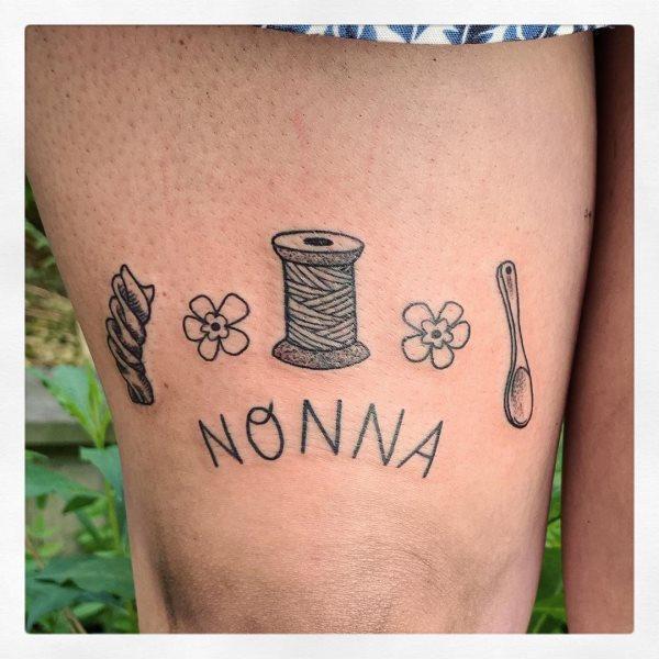 tatuaggi per i nonni