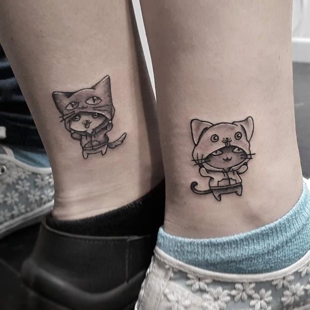 tatuaggi sorelle