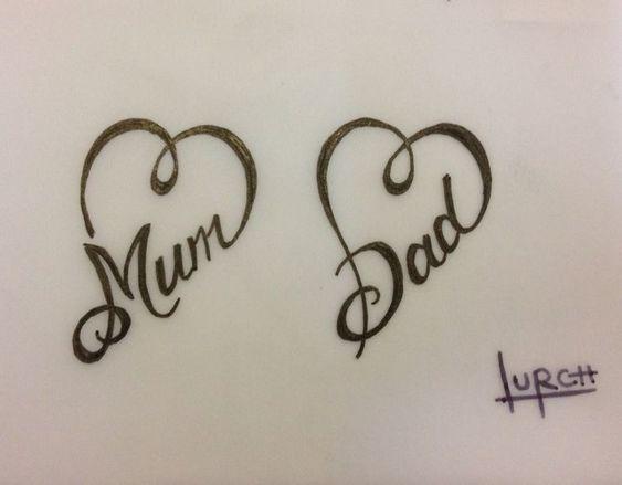 tatuaggio dedicato alla mamma