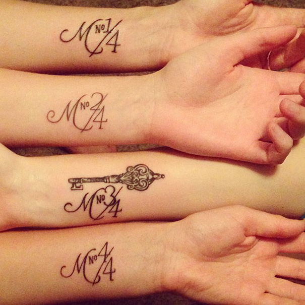 tatuaggio fratelli