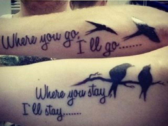 tatuaggi mamma figlio