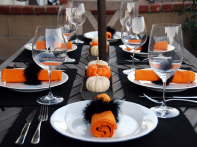 tavolo halloween
