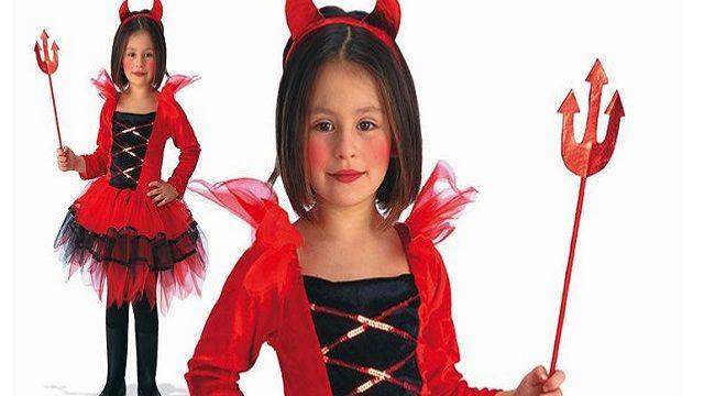 trucco diavoletta per halloween
