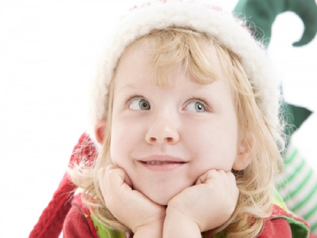 bambina elfo