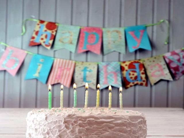 torta e festoni