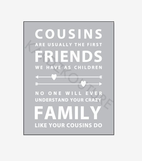 frasi da dedicare ai cugini