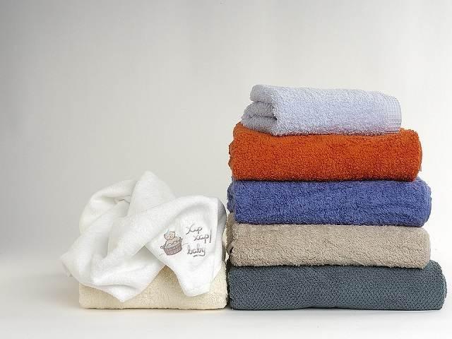 set di asciugamani bagno