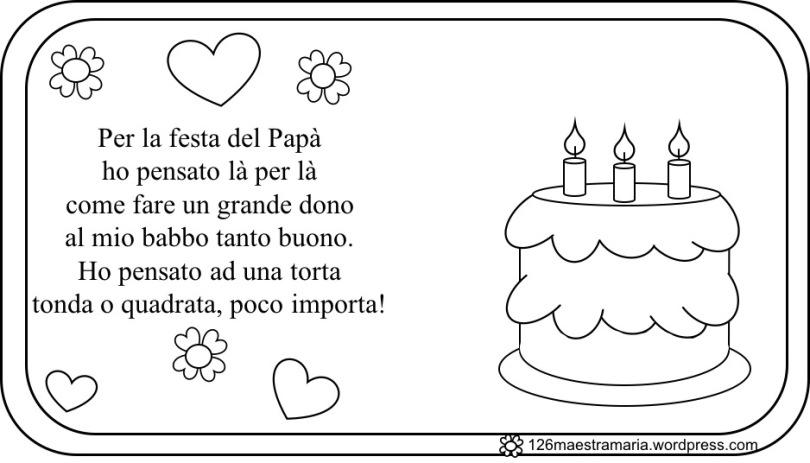 poesia festa del papà bambini scuola infanzia