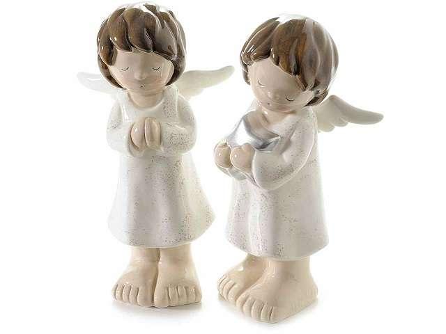 angeli di ceramica