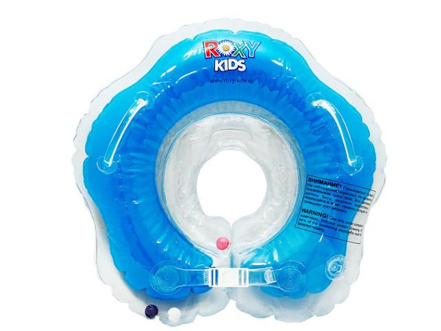 ciambella blu per neonato
