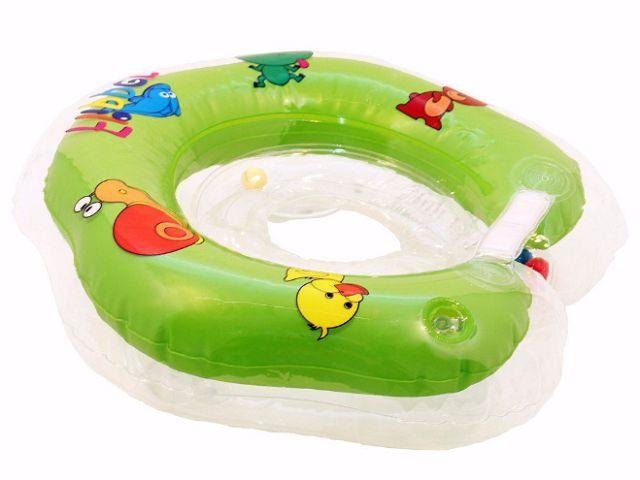 ciambella verde per neonato