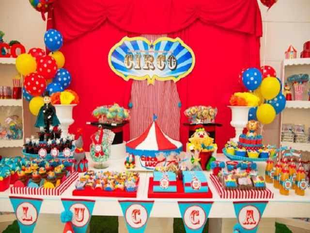 primo compleanno circo
