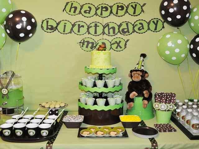 primo compleanno scimmia
