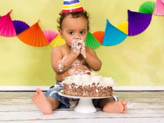 primo compleanno bambino