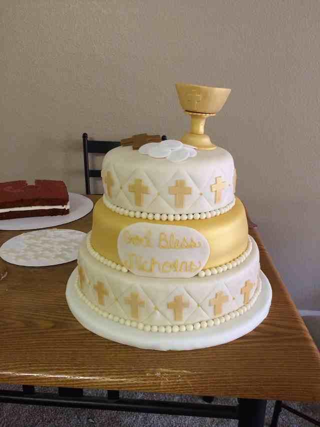 torta prima comunione maschio