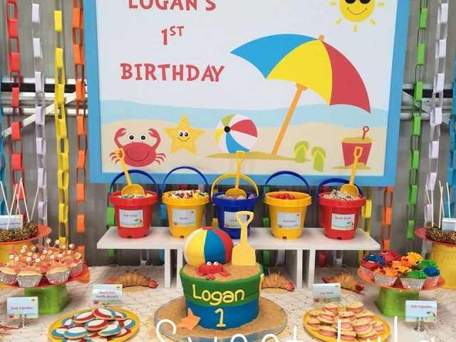 festa di compleanno al mare