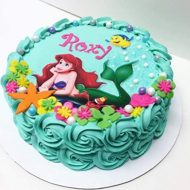la sirenetta torta