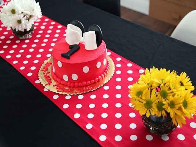 torta minni per primo compleanno