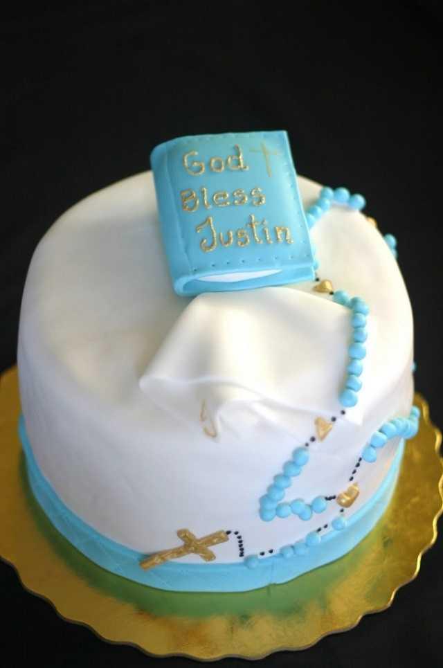 torta con vangelo