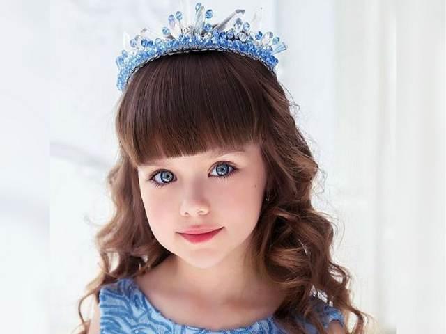bambina più bella del mondo