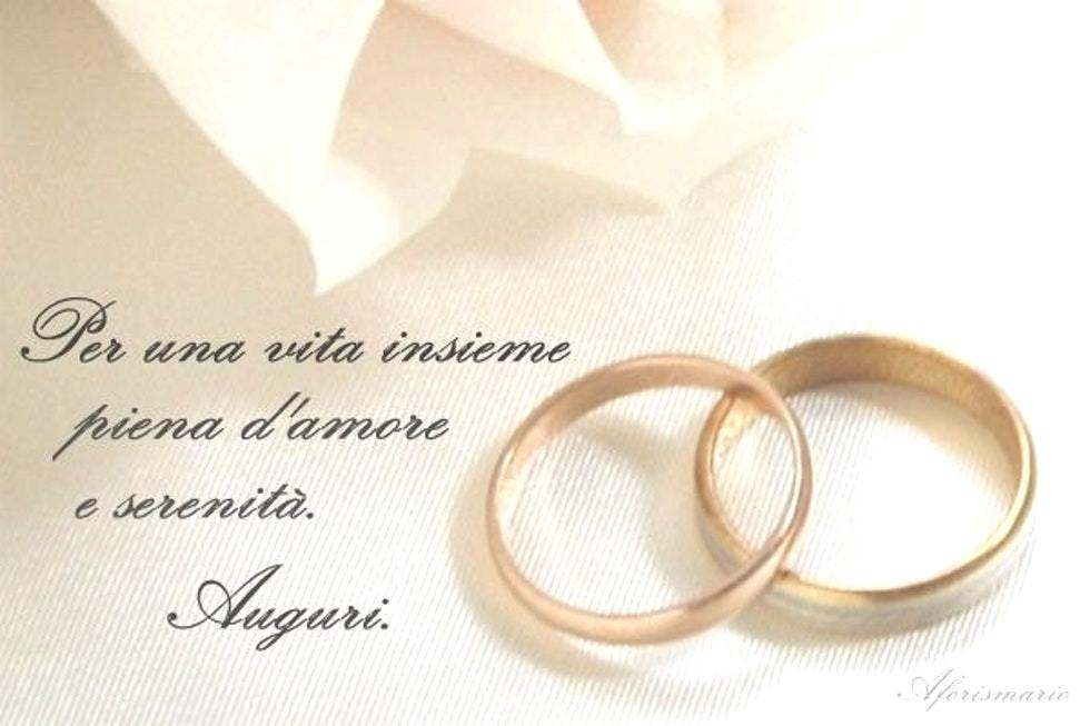 Frasi Di Auguri Per Matrimonio Semplici
