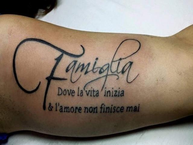 Tatuaggi Per Figli Ecco I Simboli E Le Frasi Da Tatuare