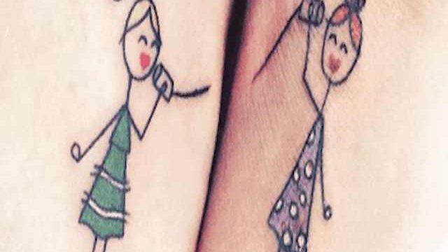 tatuaggio per figli