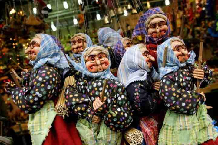 marionette befana