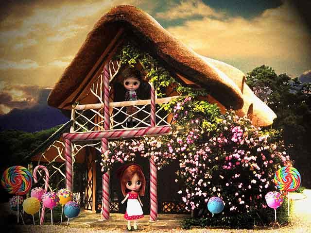 Foto Hänsel e Gretel nella casetta